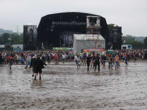 The Other Stage in mud
