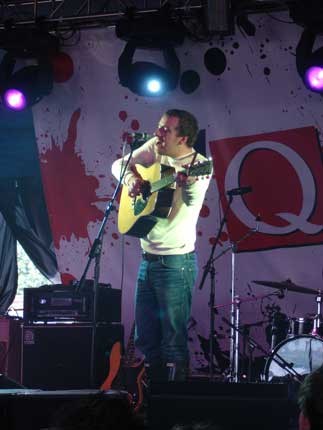Stephen Fretwell at The Queen's Head