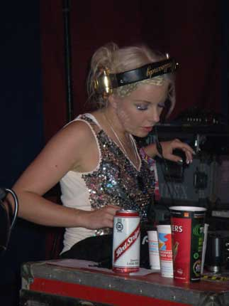 Little Boots DJ set at Stonebridge Bar at Glastonbury