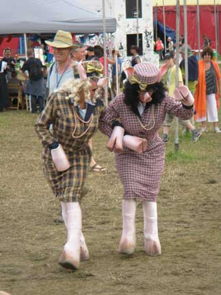 Swine Flu at Glastonbury