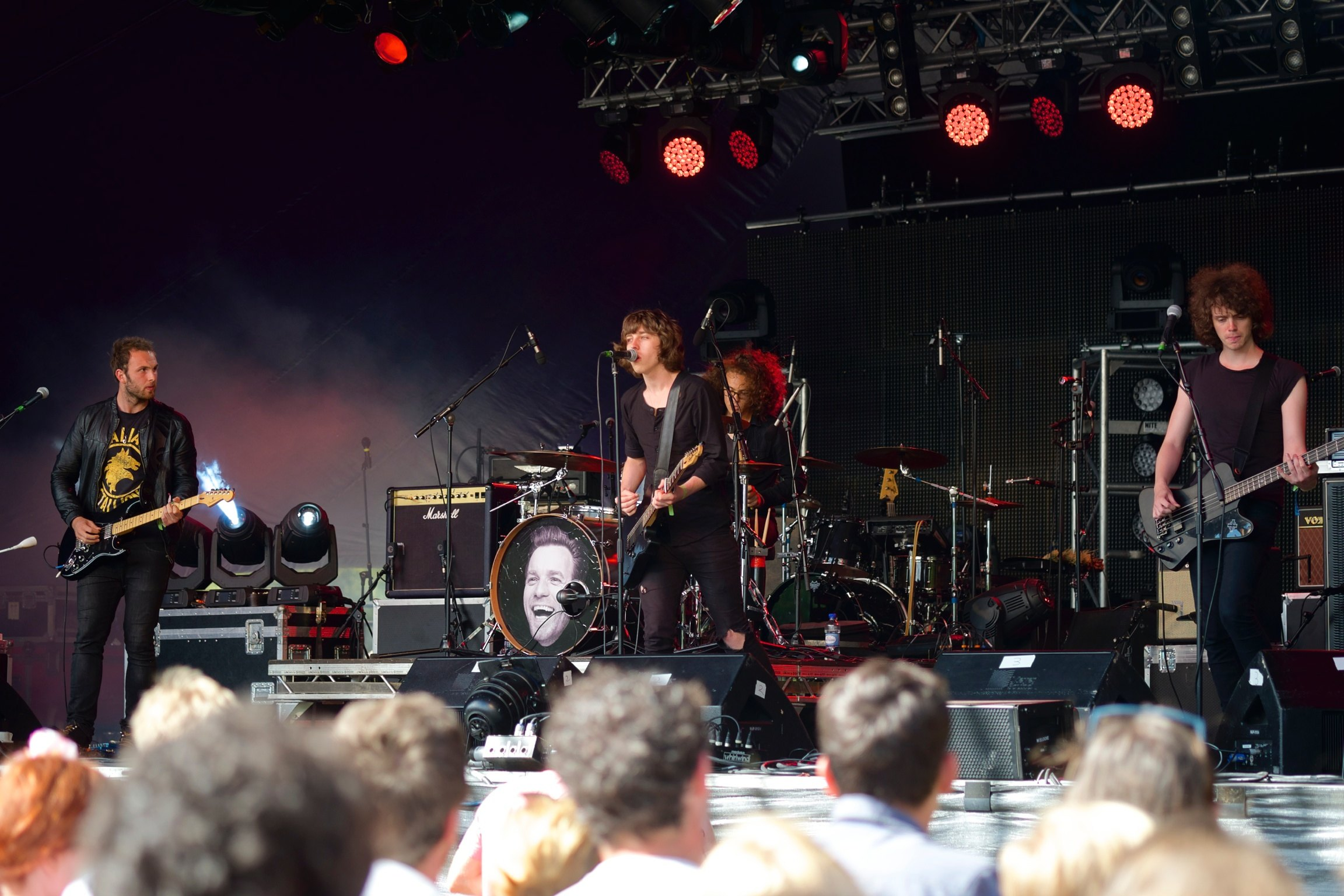 Catfish and The Bottlemen at Somersault Festival 1