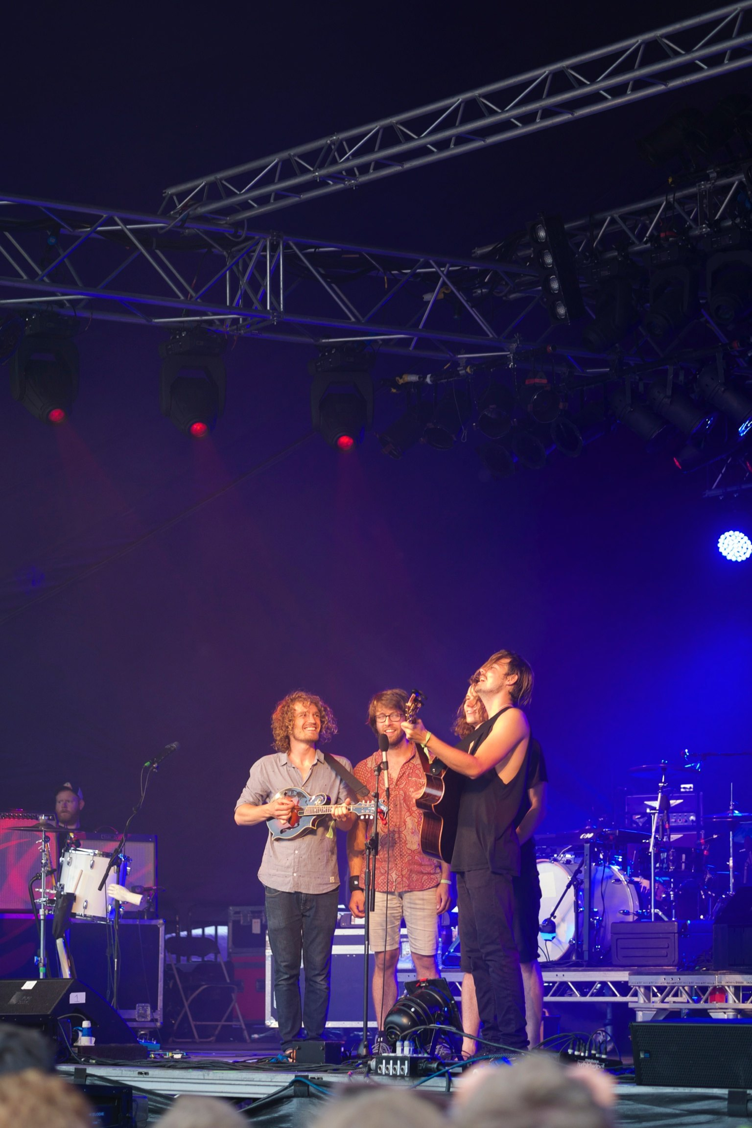 Half Moon Run at Somersault Festival 4