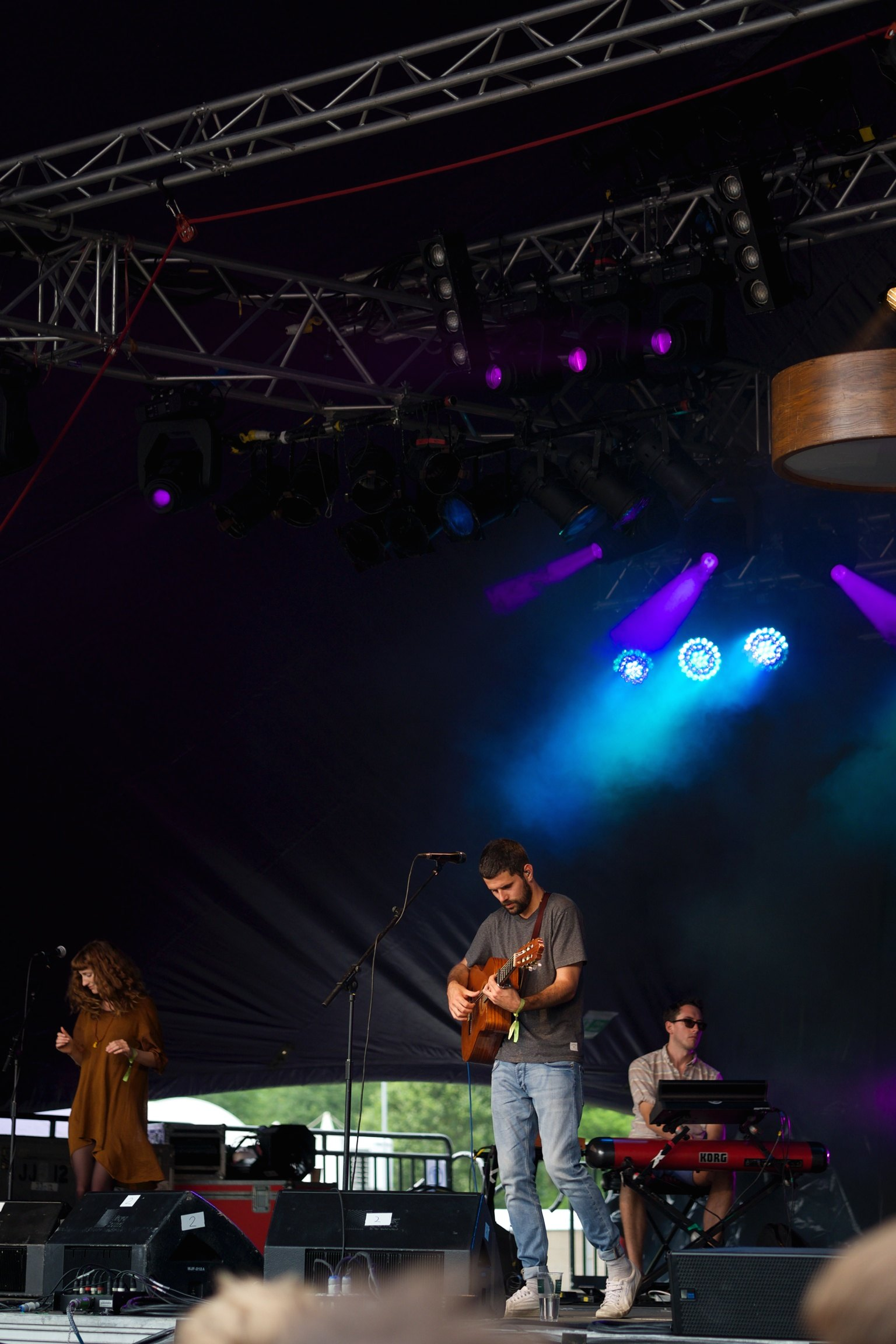 Nick Mulvey at Somersault Festival 1