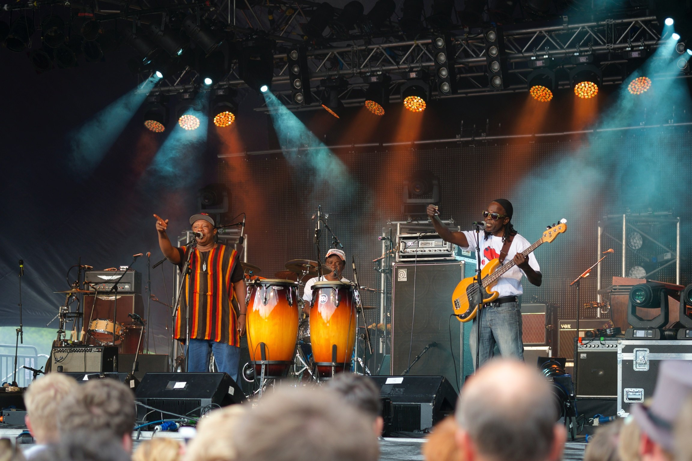 Sierra Leone's Refugee All Stars at Somersault Festival 1