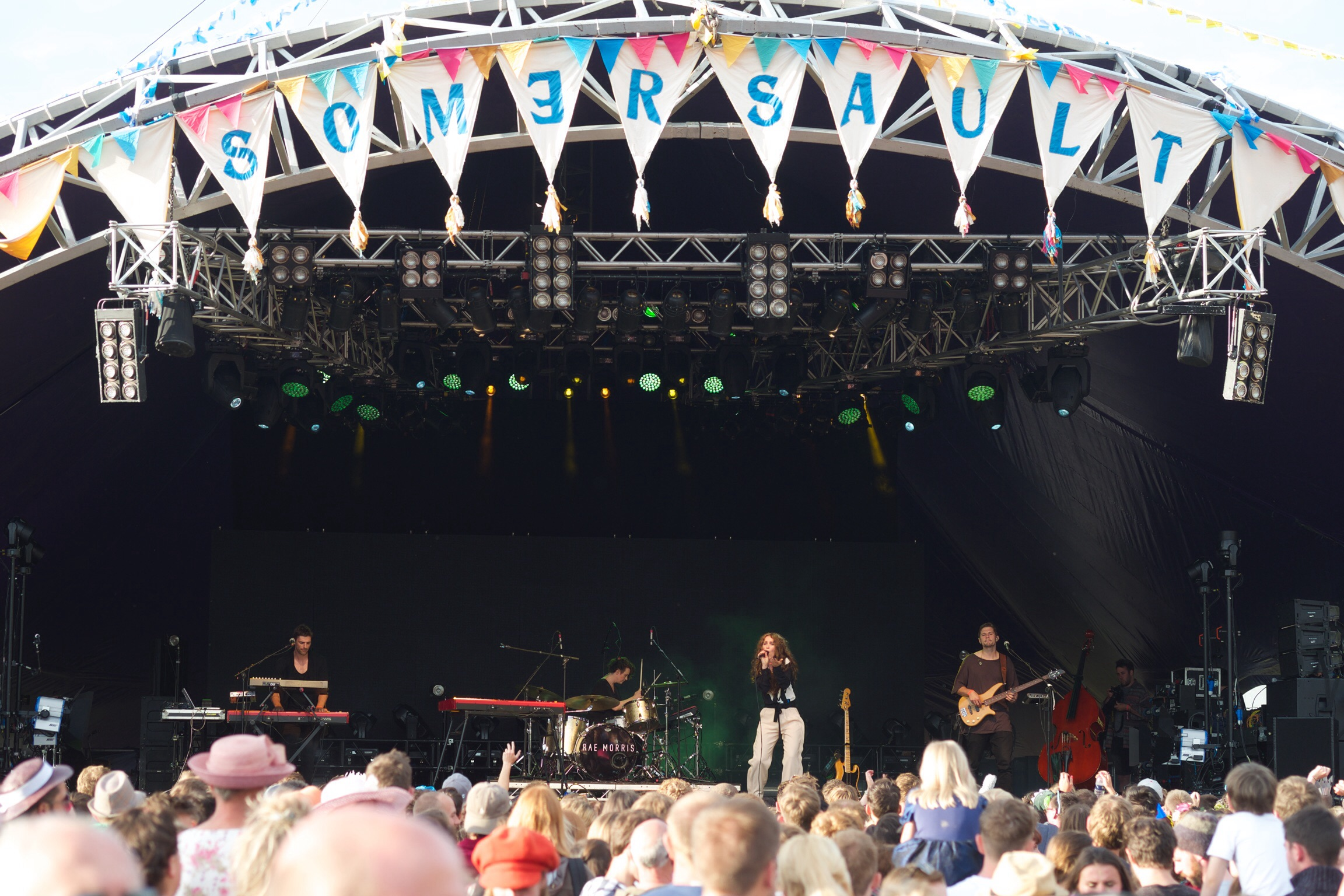 Rae Morris at Somersault 2015
